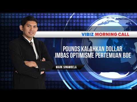 Pounds Kalahkan Dollar Imbas Optimisme Pertemuan BoE, Vibiznews 23 Juli 2015