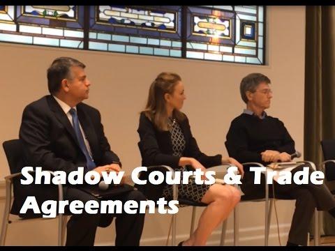 CCSI | Shadow Courts: The Hidden Danger in Trade Agreements | October 2016