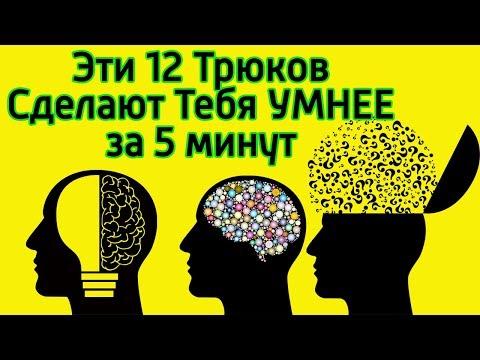 Эти 12 способов помогут быстро поумнеть и прокачать мозг – Как стать умным за 5 минут и креативным