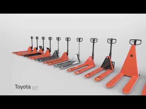 Складская техника. Новая линейка ручных гидравлических тележек Toyota  BT Lifter серии L