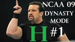 NCAA Basketball 09 | Dynasty Mode | New Head Coach Is EXTREME!