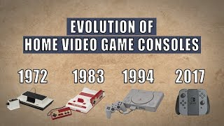 Home Video Game Consoles Evolution | 1972 - 2017