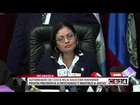 Nicaragua: el 16 de junio inicia juicio contra sospechoso de asesinar a familia en Costa Rica