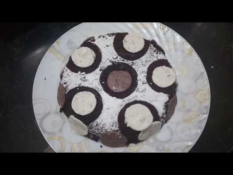 Oreo Biscuit Cake| Instant Cake Recipe| Cake Decoration Without Cream|Easy Chocolate Eggless Cake