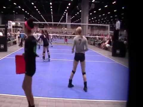 AAU Nationals-OVA 17 Molten(white) vs. River City Jrs 171(gray)-Set 2