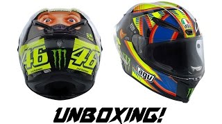 Martin501 - Capacete AGV Corsa Double Face Winter Test Unboxing