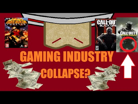 5 REASONS WHY THE GAMING INDUSTRY IS GOING TO COLLAPSE