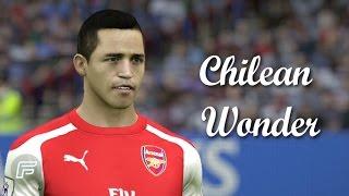 """Alexis sánchez """"chilean wonder"""" (fifa 15 tribute)"""