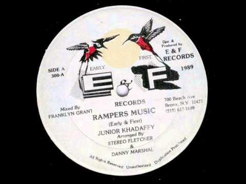 junior khadaffy rampers music