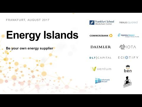 Energy Islands - Be your own energy supplier