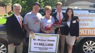 WJBK Fox 2 - News of PCH SuperPrize Winner Michael Shields