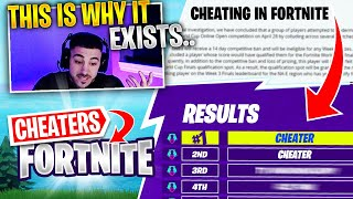 Nickmercs Reacts To The Cheating In Fortnite.. Why Does It Happpen?!