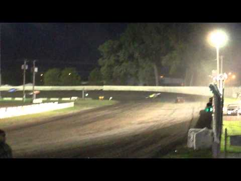 Colby Jensen Midwest Modified Feature Dakota State Fair Speedway August 1 2015 #5