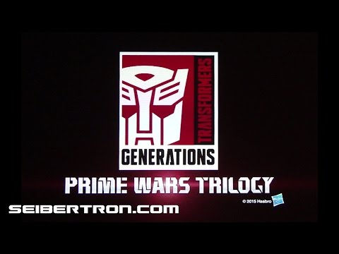 Transformers Prime Wars Trilogy trailer shown at NYCC 2015