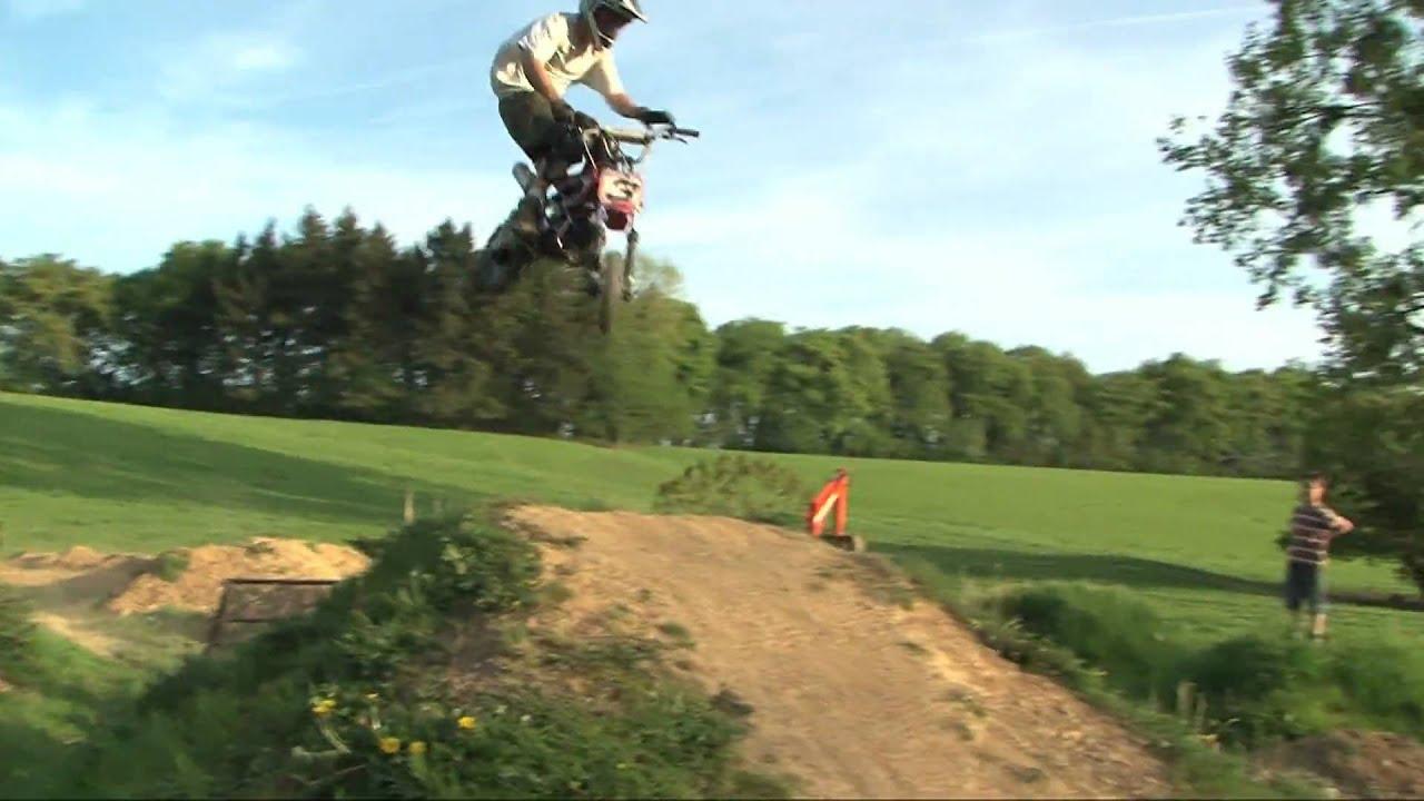 Pitbike Freestyle Belgium Backyard Youtube