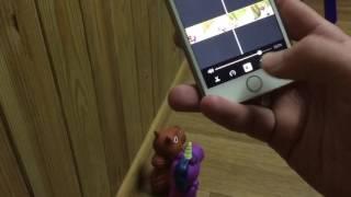 Как смонтировать видео на айфоне с помощью iMovie.