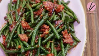 Spicy Stir Fried Chinese Long Beans