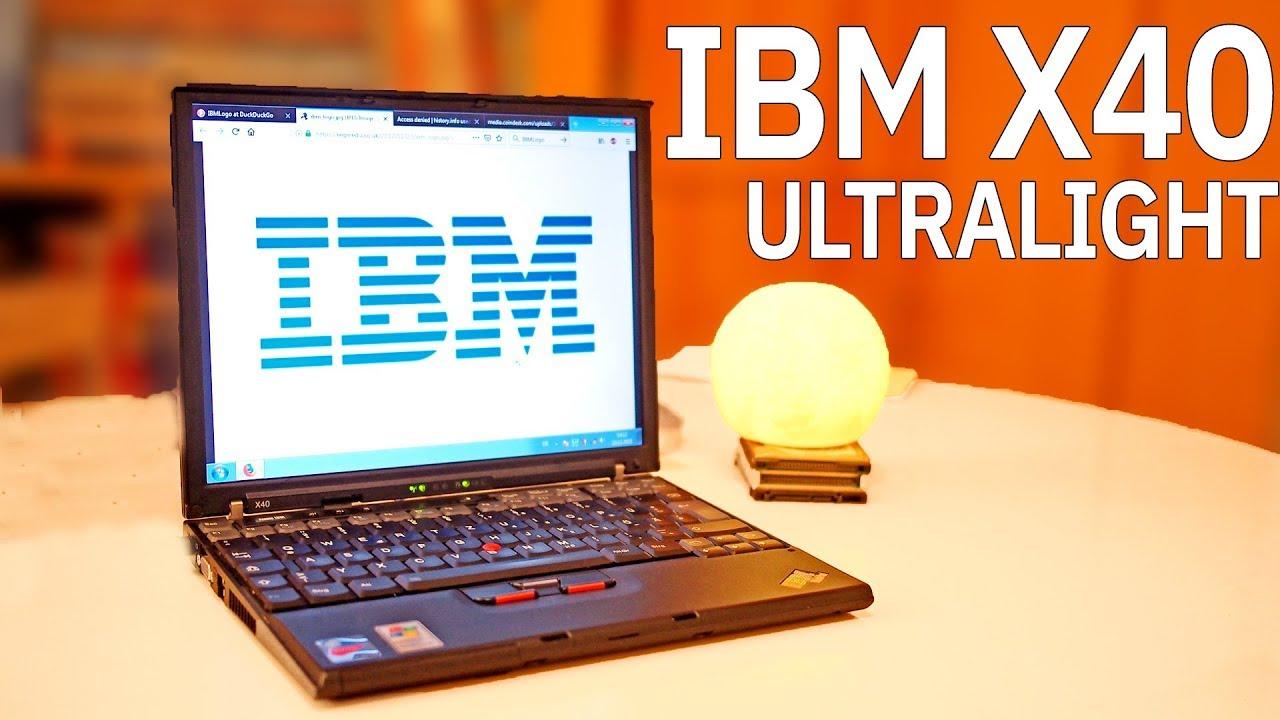 IBM X40 DRIVERS PC