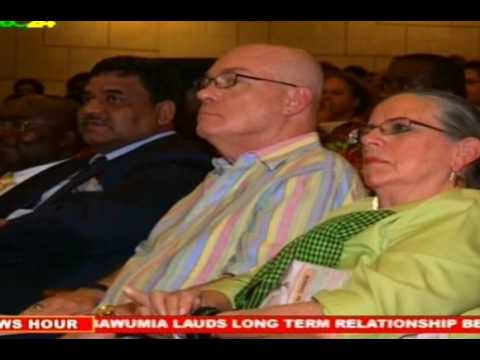 Accra: Vice President Dr. Mahamudu Bawumia Attends India 68th Anniversary