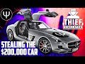 Thief Simulator — STEALING the $200,000 Car!