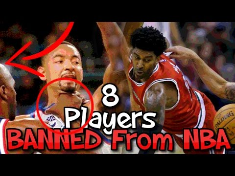 NBA Players Who Are PERMANENTLY BANNED From The NBA