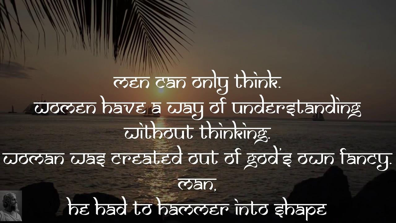 Rabindranath Tagore Quotes 20 Youtube