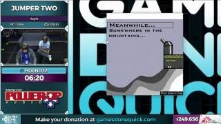 Jumper Two by Hornlitz in 22:04 - SGDQ 2016 - Part 60