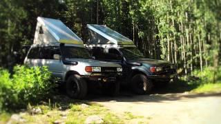 Land Cruiser Camper by CAMPTEQ 80 series