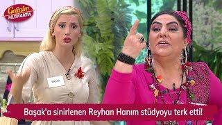 Başak'a sinirlenen Reyhan Hanım stüdyoyu terk etti! Gelinim Mutfakta 143 Bölüm