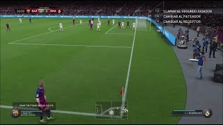 FIFA 16   Barcelona VS Real Madrid Camp Nou - Clase Mundial   PS4 Gameplay