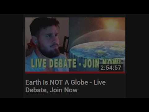 FLAT EARTH Let's fact check a globetard train wreck! thumbnail