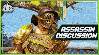 [For Honor] My Thoughts On EVERY Assassin In The Game..