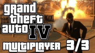 É MUITA TRETA! - GTA 4 Multiplayer (PC/Xbox360/PS3) Parte 3/3