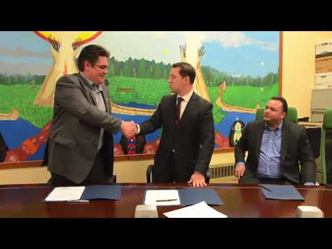 Native fishing deal signed