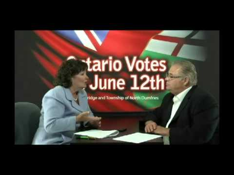 Ontario Votes - Liberal Candidate Kathryn McGarry