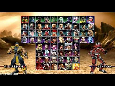 Mortal Kombat Armageddon Todos Fatalities