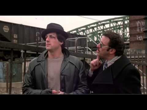 Rocky (1976): Rocky Meets Up With Gazzo