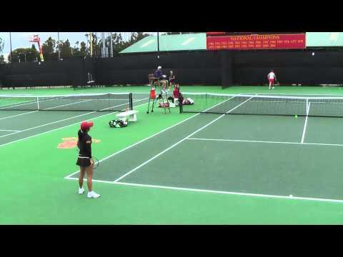 03 26 2011 USC Vs Stanford Womens tennis singles