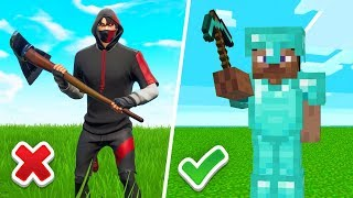 MINECRAFT KILLED FORTNITE