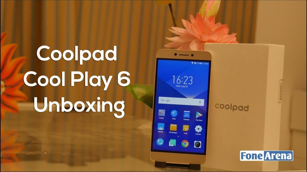 Coolpad Cool Play 6 Unboxing