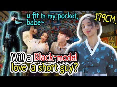 When A Korean Boyfriend Dating Black Girlfriend (Eng Sub)