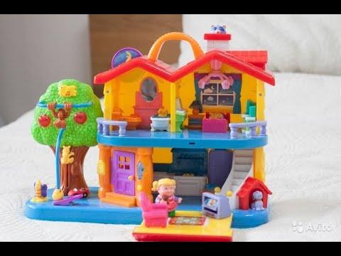 Игрушка развивающая kiddieland занимательный дом купить