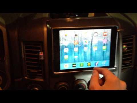 Nissan Titan IPad Mini Dash Install
