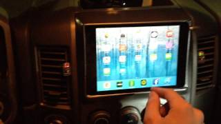 Nissan Titan iPad Mini Dash Install
