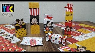 Tema de hoje: Porta Lembranças - Mickey Mouse