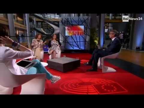 Rai News24:  Adinolfi, Comi, Costa, Forenza  su TTIP e immigrazione