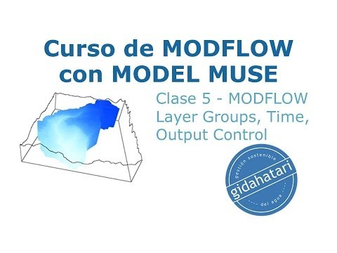 Curso MODFLOW Cl-5 MODFLOW Layer Groups, Time, Output Control, Options