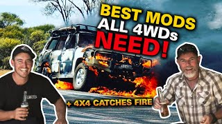 First 5 things we'd do to ANY 4WD! Shauno, Graham & Jocko's tips + 4WD FAILS // The Shed Ep 10