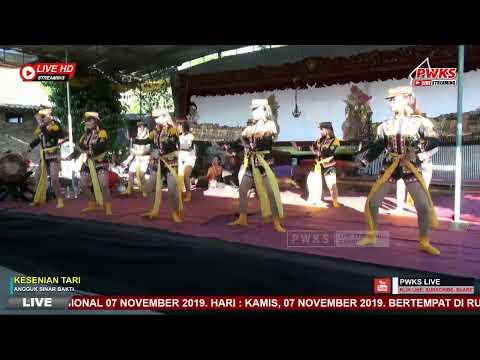 #pwkslive#livestreaming-kesenian-tari-angguk-sinar-bakti