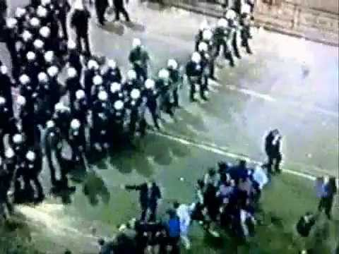 1999 Greece riot against Clinton NATO parade to bomb Serbia for Kosovo